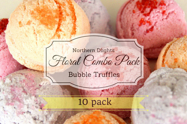 Floral Scented Bath Truffle (10) Combo Pack - Northerndlights