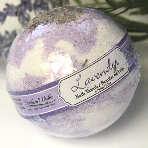 Lavender Bath Bomb - Northerndlights