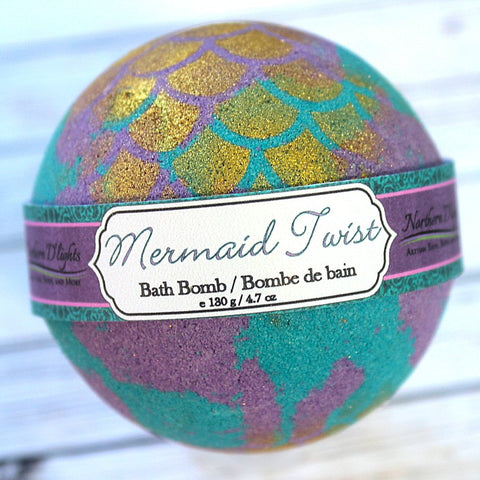 Mermaid Twist Bath Bomb - Northerndlights