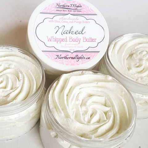 Naked Whipped Body Butter - Northerndlights