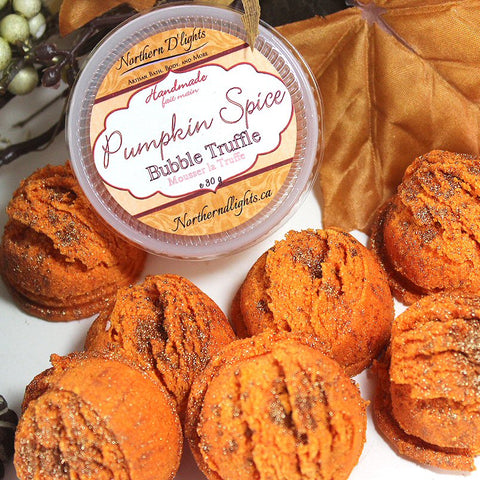 Pumpkin Spice Bath Truffles - Northerndlights