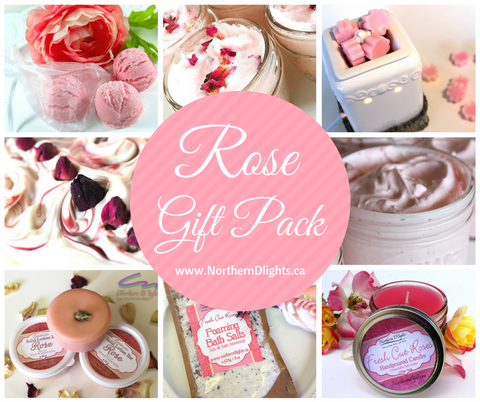 Rose Bath Gift Set - Northerndlights