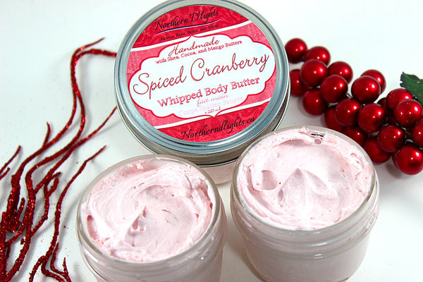 Whipped Body Butter - Spiced Cranberry