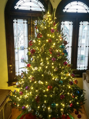 Decorated 8ft Fraser Fir