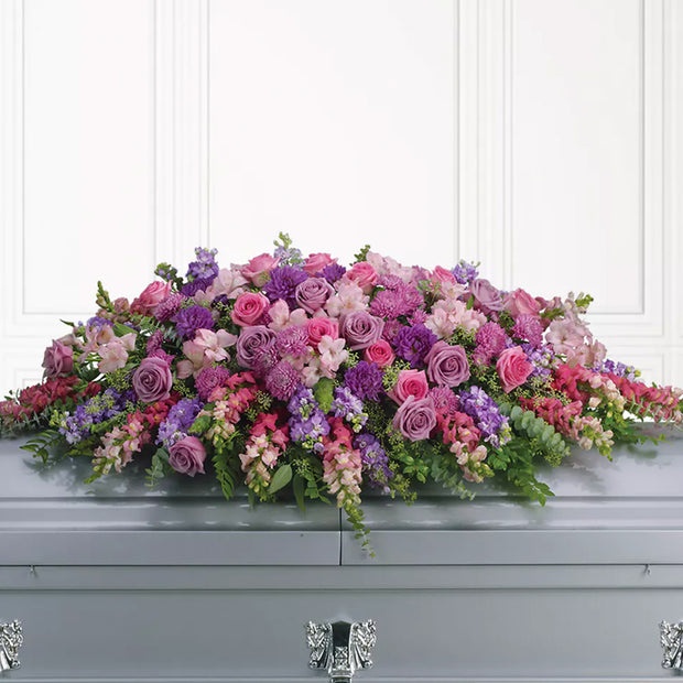 Heavenly Garden Casket Spray
