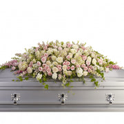 Infinite Tribute Casket Spray