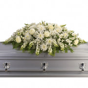 Pure Remembrance Casket Spray