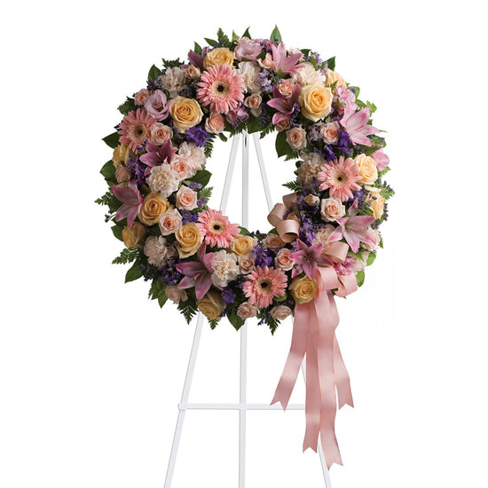 Sweet Roses Wreath