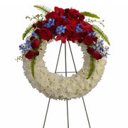 Honored Duty Wreath