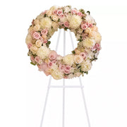 Angelic Blush Wreath