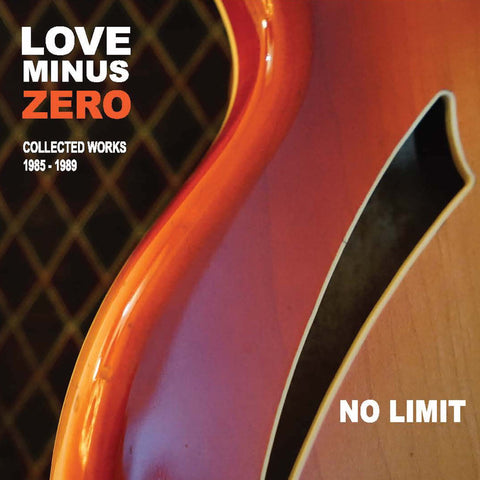 LOVE MINUS ZERO album 'NO LIMIT'  MR 37