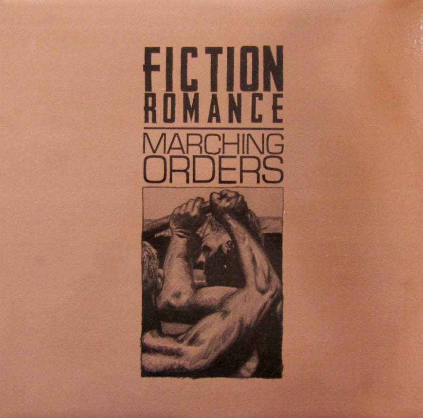 "Fiction Romance MARCHING ORDERS 12"" LP on vinyl  MET 005"