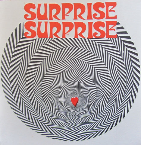 "Surprise Surprise ANGUISHED HEART 7"" single on vinyl  MR 18"