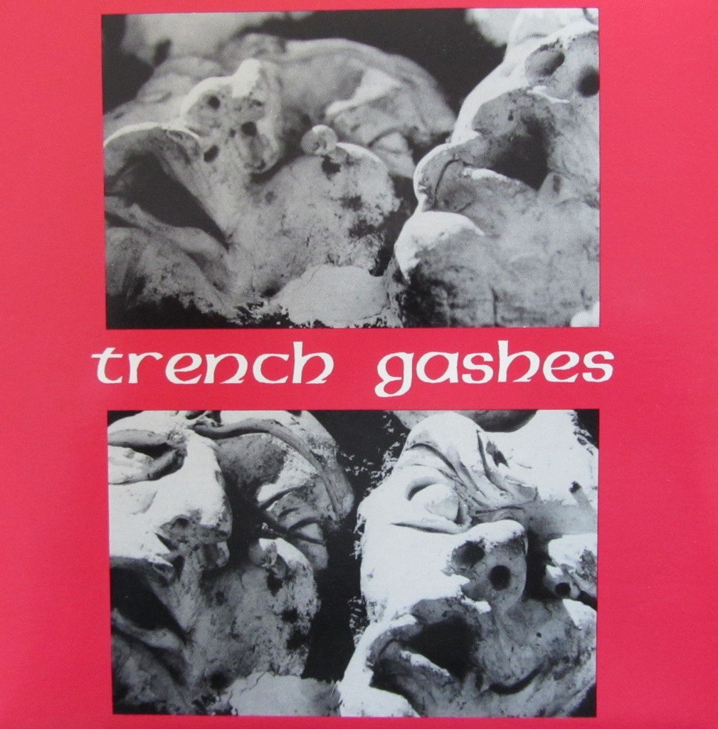 "Trench Gashes AGE SHALL WEARY ME 7"" EP on vinyl  MR 20"