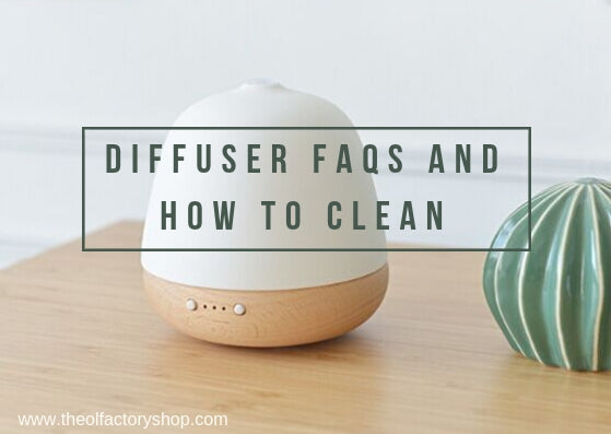 Diffuser FAQs including how to clean your diffuser
