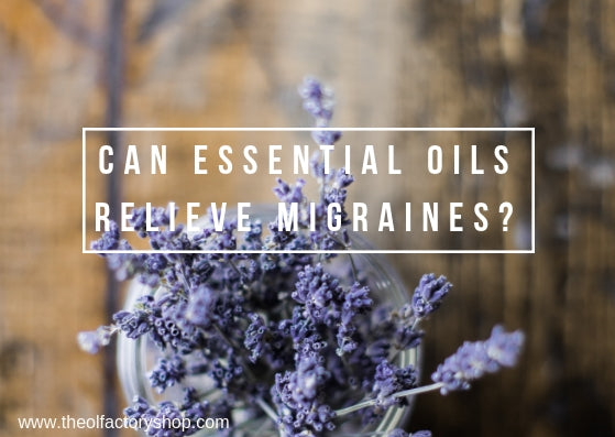 Can essential oils relieve migraines?