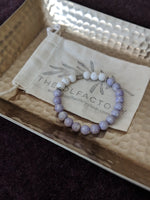 Lavender and White Lava Diffuser Bracelet - The Olfactory Shop