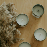 Check out all three of our natural coconut wax candles at the olfactory shop dot com