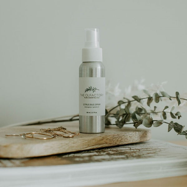 Made in Canada all natural bug spray. A summer spray that smells great and works!