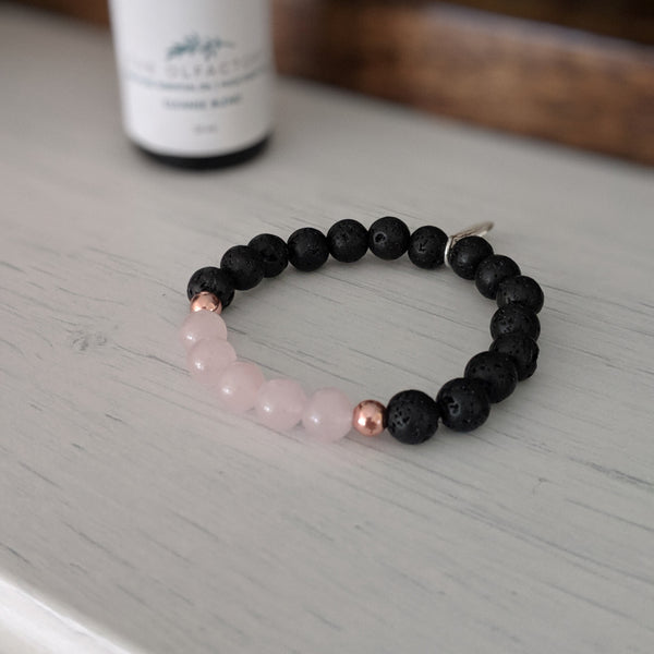 Kid's Rose Quartz Bracelet - The Olfactory Shop