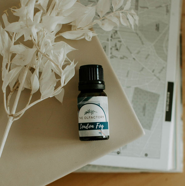 Getaway with London Fog pure essential oil blend. Inspired by the chic streets of London and a perfect pick-me-up for a rainy day.