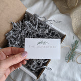 Botanical gift wrapping - The Olfactory Shop