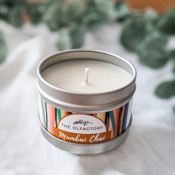 Mumbai Chai Essential Oil Candle