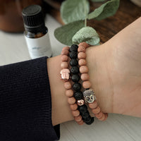 Rose Gold Stacker Bracelet - The Olfactory Shop