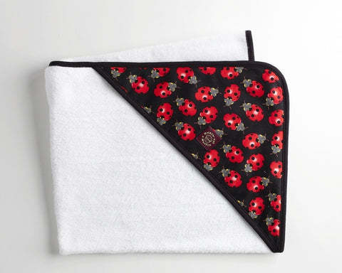 Hooded Towel - Ladybird
