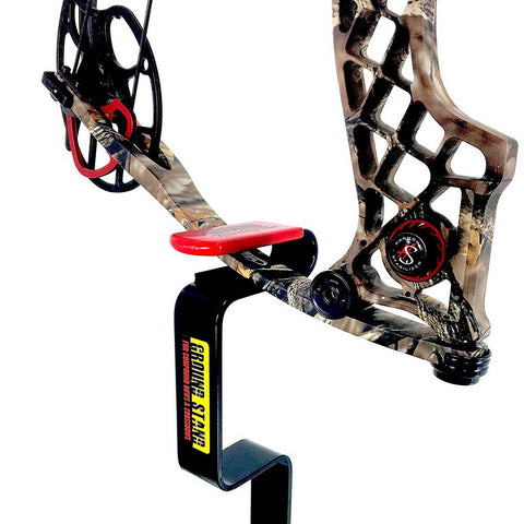 Ground Blind Bow Stand by Bow Buddy