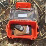 Waterproof Broadhead Case with Lock
