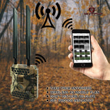 Snyper Commander 4G LTE Trail Camera 1080P / 12MP Cellular Trail Camera with LCD Screen