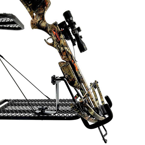 Tree Stand Crossbow Rack