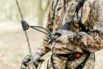"Proven Wild Treestand Reflective Lifeline Rope for Hunting - 30 ft Harness Lifeline ""Reflective"" with Prusik Knot and Single Carabiner"