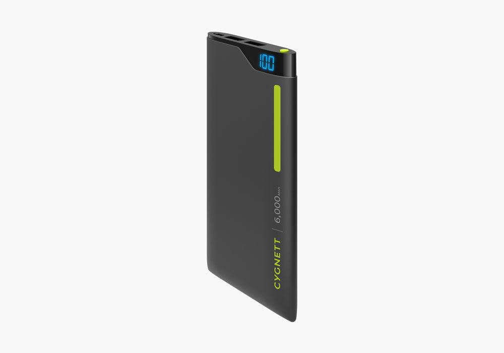 ChargeUp Digital 6,000mAh Power bank - Green