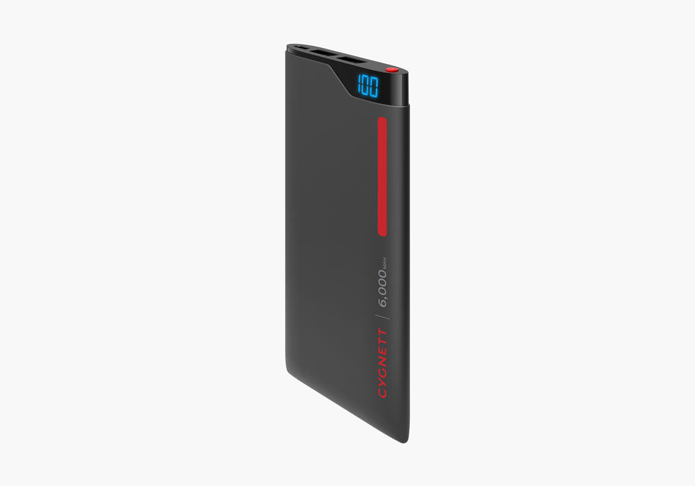 ChargeUp Digital 6,000mAh Power bank - Red