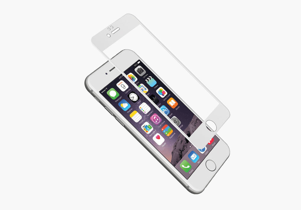 AeroCurve Screen Protector for iPhone 6s Plus & 6 Plus - White