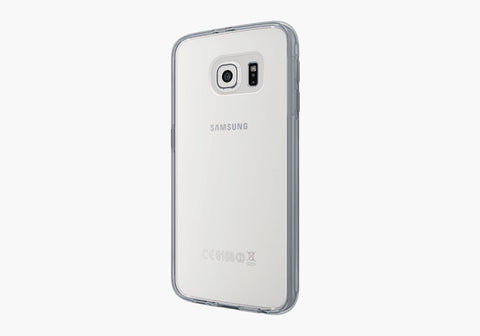 AeroShield Case for Samsung Galaxy S6 Edge - Grey Trim