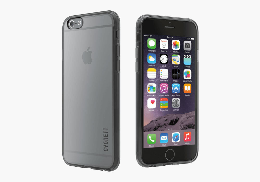 AeroShield Case for iPhone 6s & 6 - Grey Trim