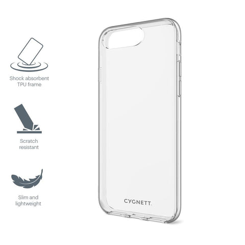 Slim Clear Protective case for iPhone 8+, 7+, 6s & 6+ - Cygnett (AU)