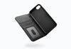 iPhone 8 & 7 Leather Wallet Case in Black