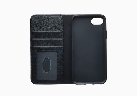 iPhone 8 Plus & 7 Plus Leather Wallet Case in Black - Cygnett (AU)
