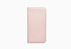 iPhone 8 Plus Leather Wallet Case in Pink