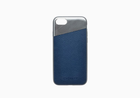 iPhone 8 Plus & 7 Plus Leather Case in Navy - Cygnett (AU)