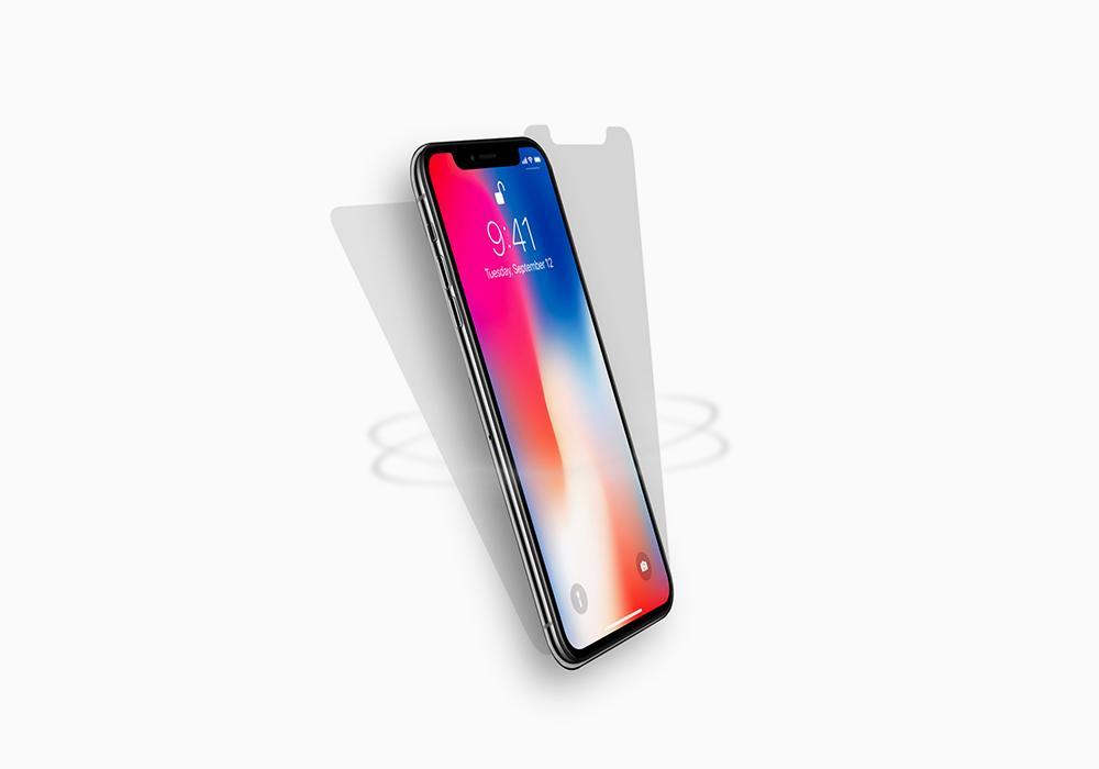the latest 88a8e 1c50e Shock Absorbing Front & Back Screen Protector for iPhone Xs & X