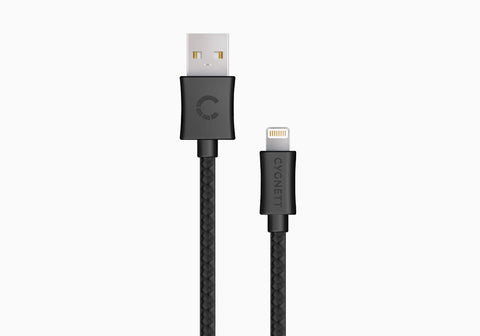 Lightning to USB Cable 6.5ft - Black