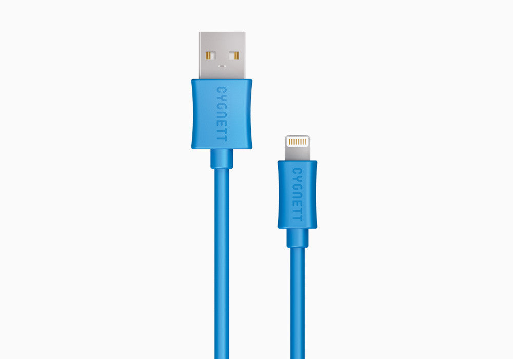 Lightning to USB Cable 4ft - Blue