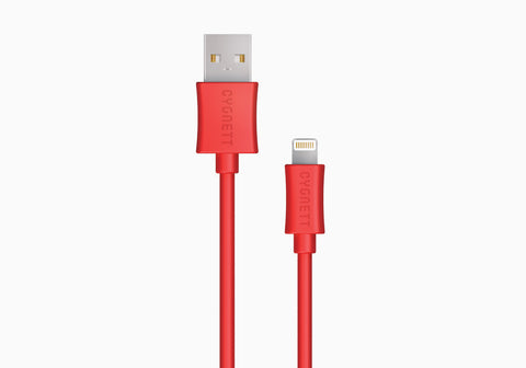 Lightning to USB Cable 4ft - Red