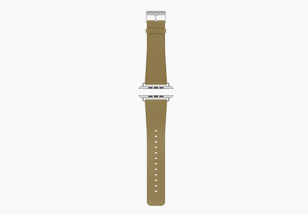 Luxband Leather Apple Watch Band - Classic Tan