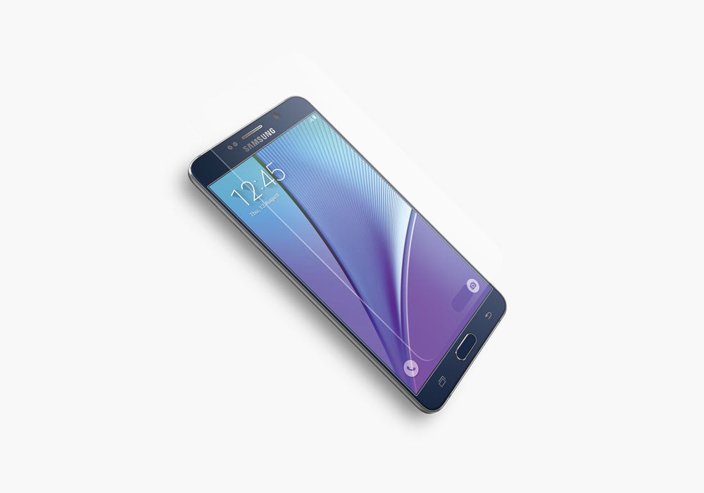 OpticShield Tempered Glass Screen Protector for Samsung Galaxy Note 5